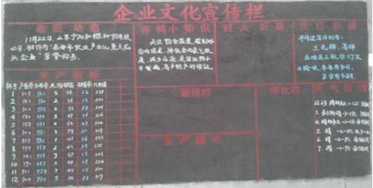 我們的黑板報_員工風采_山東和康源集團|養殖|飼料