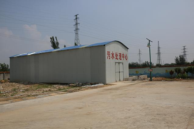 """精心打造的""""污水处理中心"""",实现了一滴污水不外排。"""